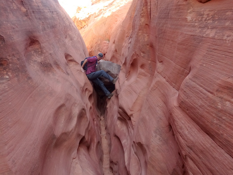 Red Breaks Slot Canyon, Utah