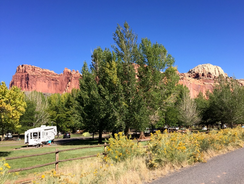 Fruita Campground - Capitol Reef National Park