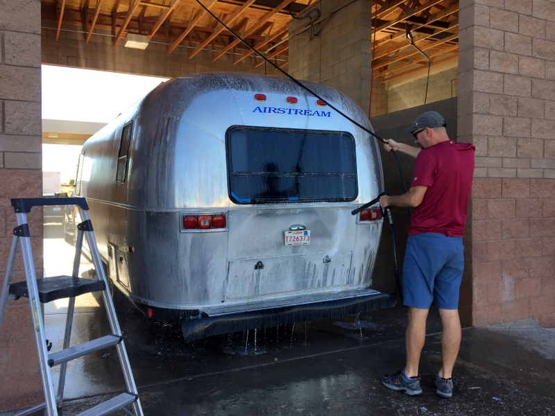 Car Wash Airstream