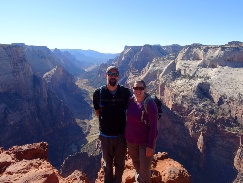 Observation Point Trail - Zion National Parl