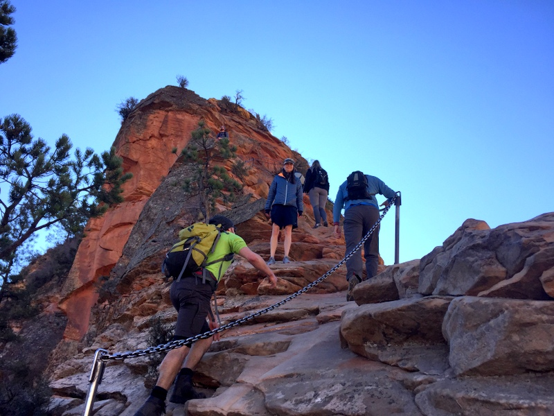 Angel's Landing Trail - Zion National Parl