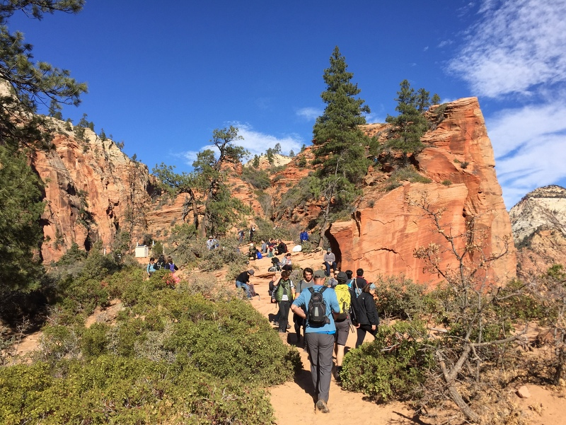 Angel's Landing Trail - Zion National ParK
