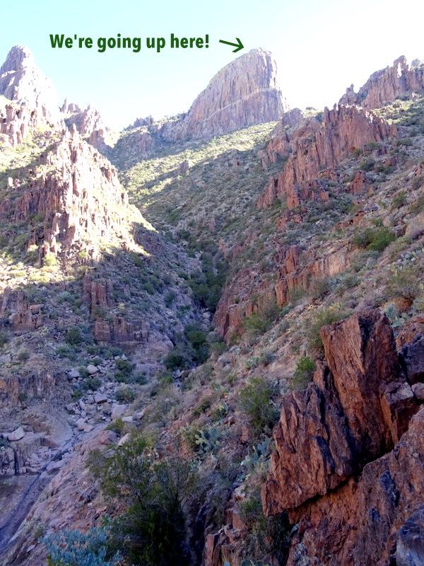 Siphon Draw Trail, AZ