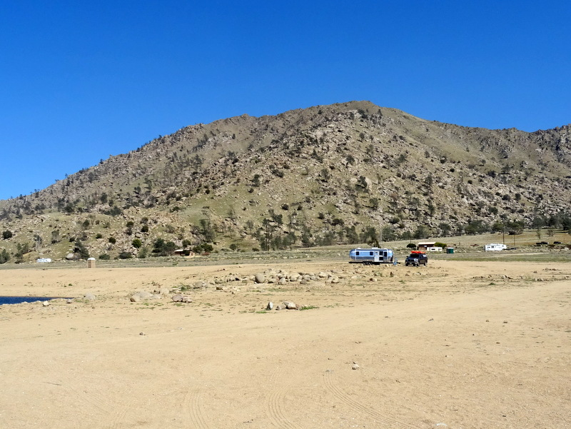 Lake Isabella Auxiliary Dam Campground
