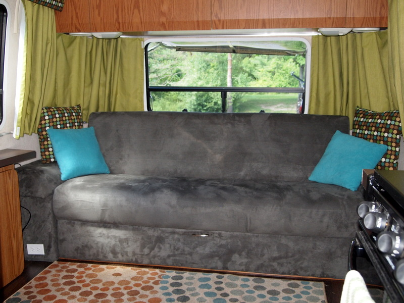 Airstream couch