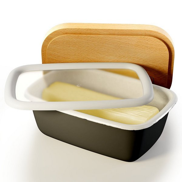 Enamel Butter Dish - RV & Lifestyle Products