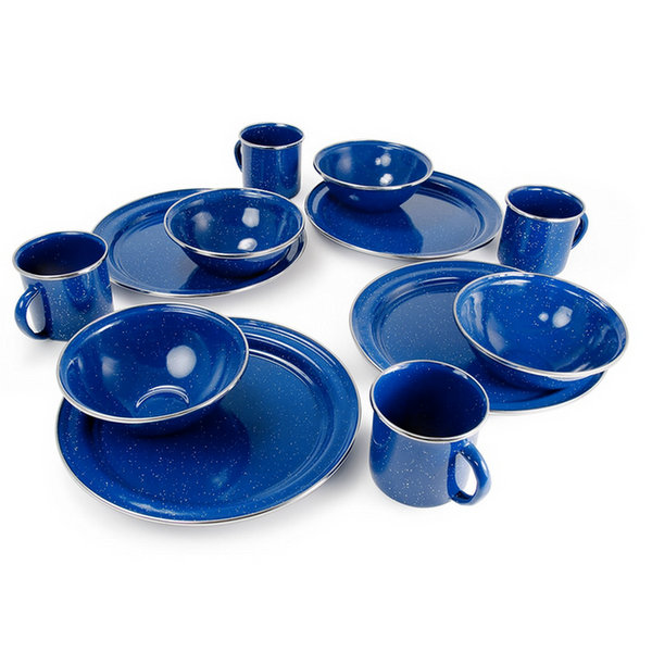 GSI Outdoors Enamelware Set - RV & Lifestyle Products