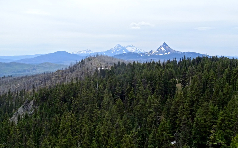 Three Fingered Jack Hike