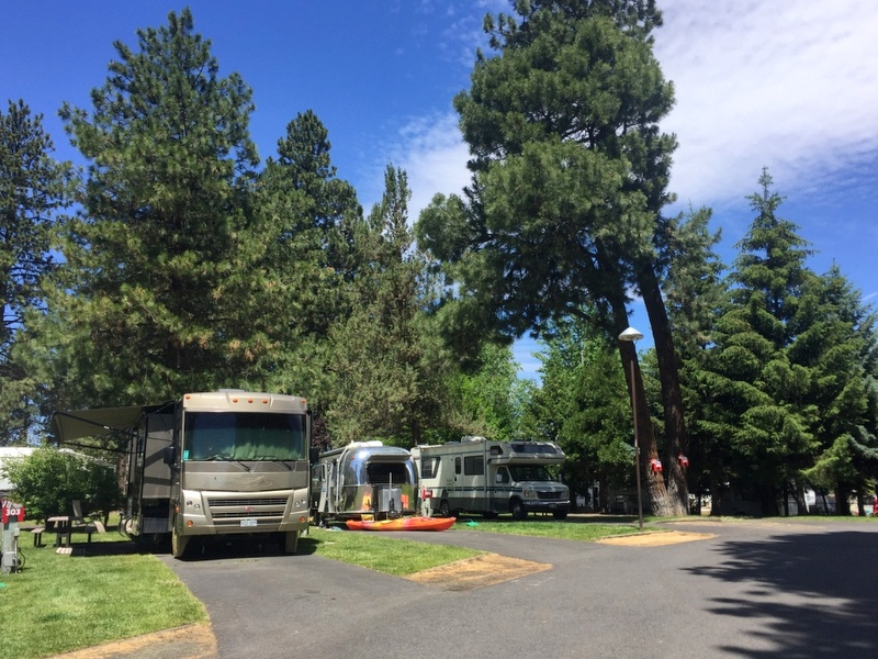 Scandia RV Park, Bend Oregon