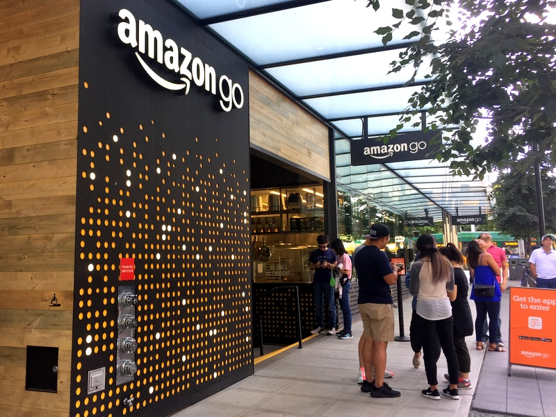 Amazon Go Store Seattle