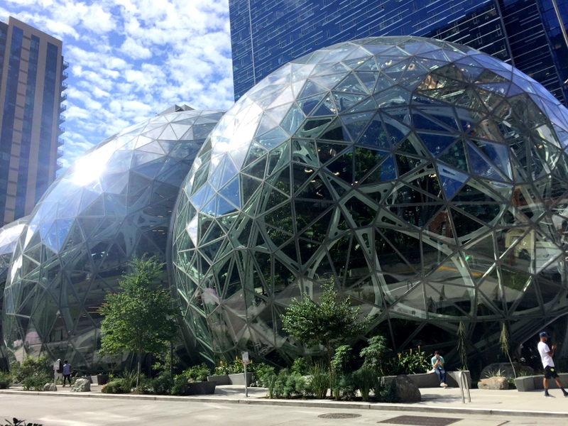 Amazon Domes in Seattle