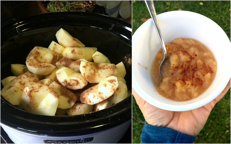 Crockpot Applesauce