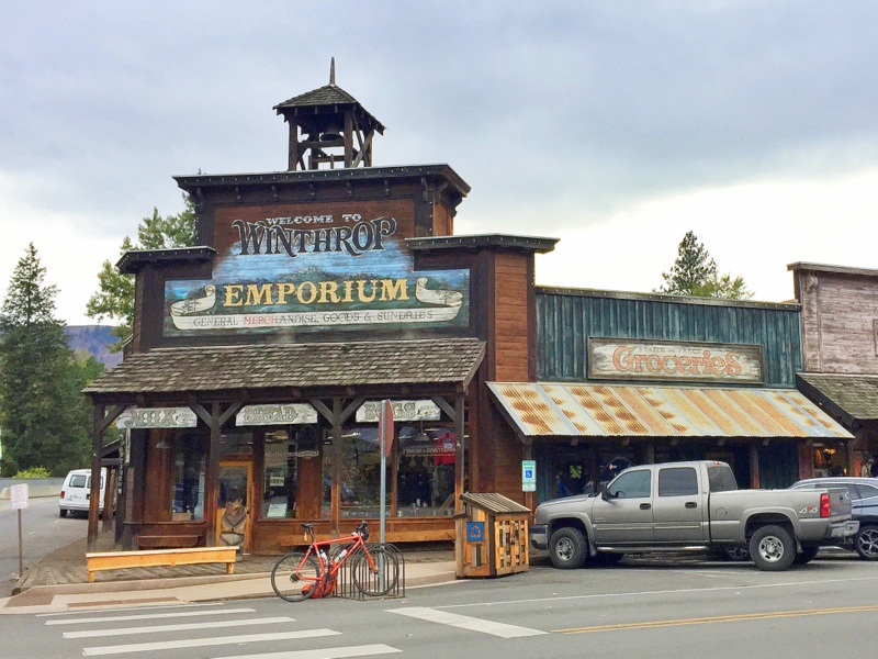 Downtown Winthrop, Washington