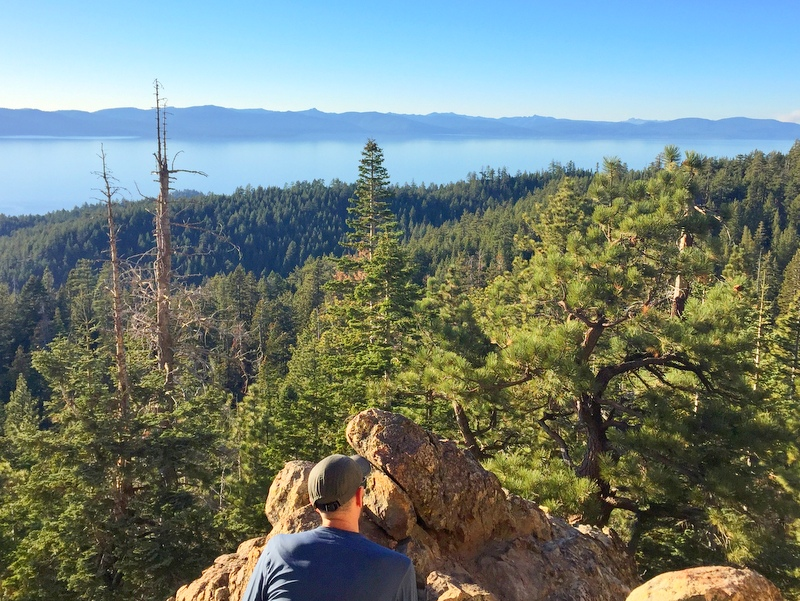 Castle Rock Trail- Lake Tahoe