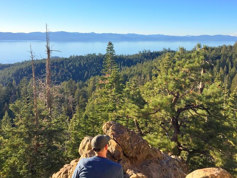 Castle Rock Trail- Lake Tahoe