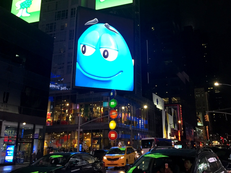 M&M Store in NYC