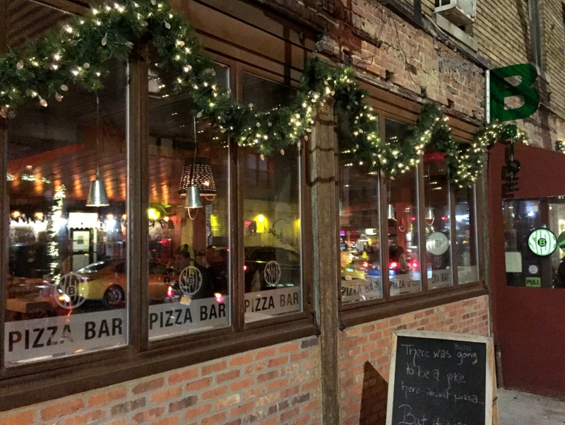 B-Side Pizza & Wine Bar in NYC