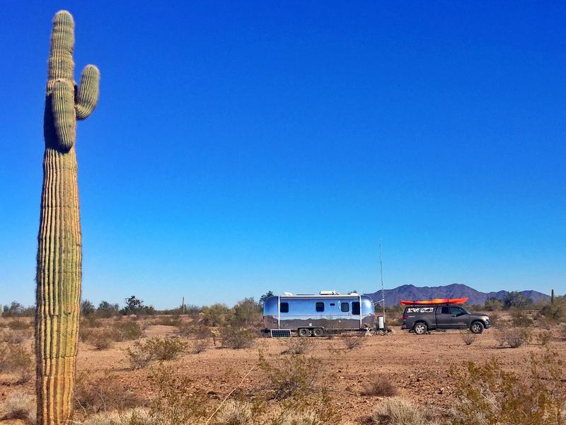 Camping at KOFA
