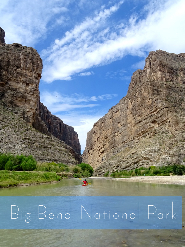 Big Bend National Park - Santa Elena Canyon
