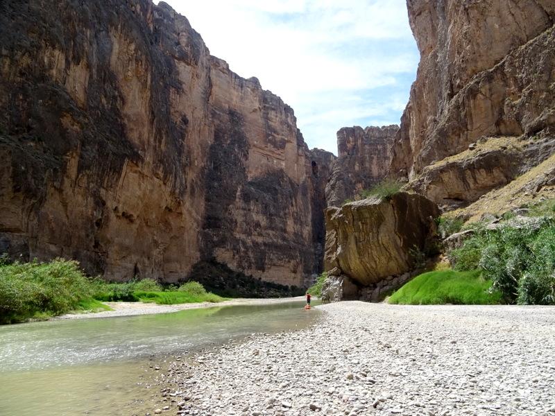 Santa Elena Canyon River Trip