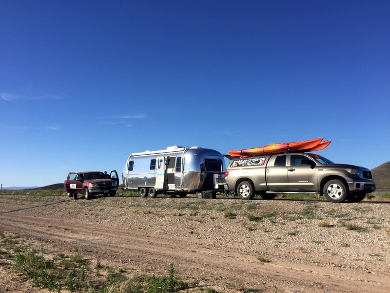 Airstream trailer tire blow out