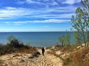 Lake Michigan at Indiana Sand Dunes State Park